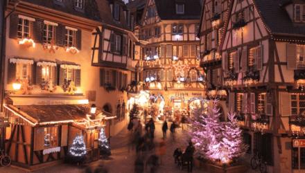 Что смотреть на рождественском рынке в Страсбурге