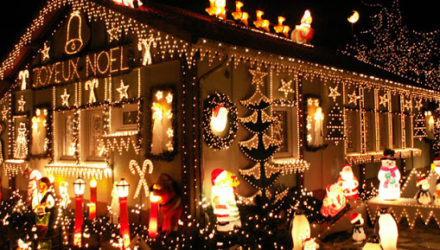 Рождественская ярмарка в Амьене