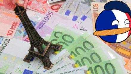 Средняя зарплата французов